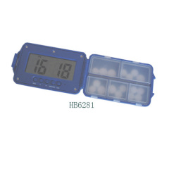 Alarm pill box