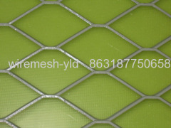 white pvc coated expanded metal meshes