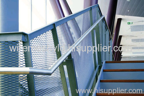 stairway protection fences