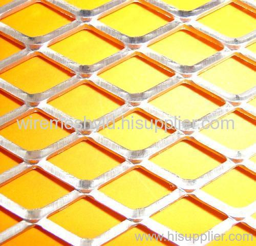 decorative flattened aluminum expanded metal meshes