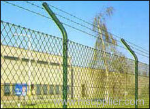 Airports Highway and railway expanded metal fencing
