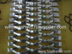 hot-dip galvanized expanded metal meshes