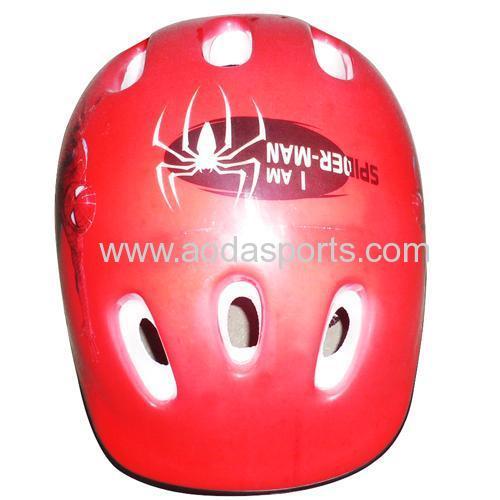 semi face bicycle helmet