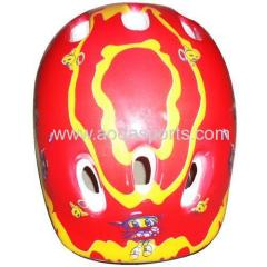 cartoon promotional helmet