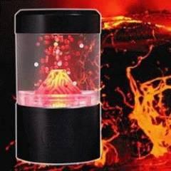 Usb Volcano Aquarium lamp