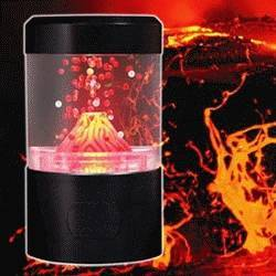 Usb Volcano Aquarium lamp