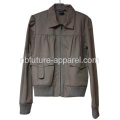 Ladies woven jacket