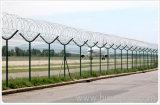 Airport guard rail net