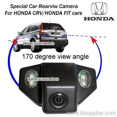 Car AUTO 170°Day/Night Reverse Rearview Backup Camera For HONDA CRV/HONDA