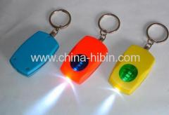 Flashlight Key Chain