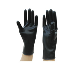 Radiation protective gloves
