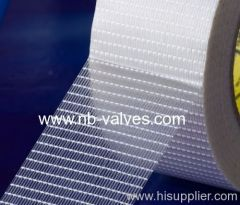 High strength bi-directional adhesive tape