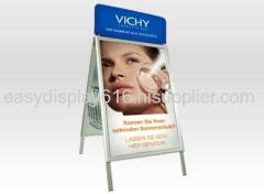 A-shape poster stand