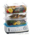 Rectangle food steamer