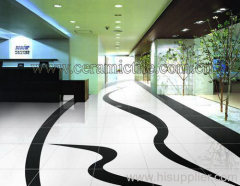 Snow White Glazed Ceramic Tile, Polished Ceramic Tile