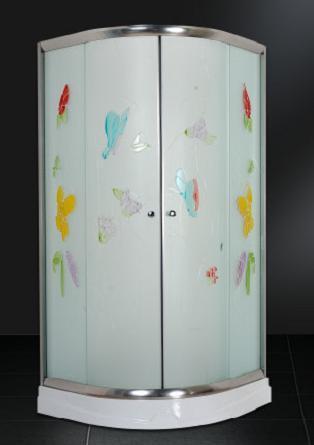 simple shower room