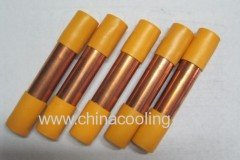 copper filter drier with cap