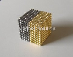 color neodymium ball magnets