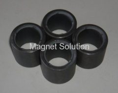 anisotropic radially multi pole ferrite ring magnet