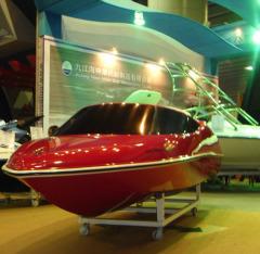 4 stroke motorboat