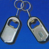 LED Keychain Light with Bottle Opener