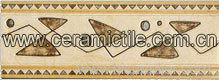 Ceramic Border Tile, Glazed Border Tile