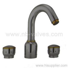 Bathroom basin mixers