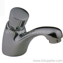 Water saving up self-close tap