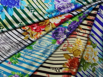 100 Silk Satin Printed Fabrics Spf911 Manufacturer From China
