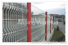double loop decorative fences