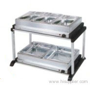 Buffet server and warming tray