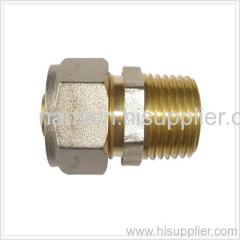 compression straight tube fitting