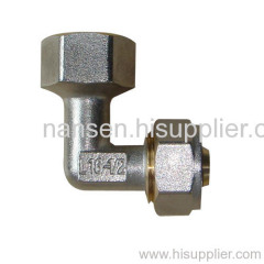 nickel plated female elbow fitting