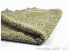 Microfiber honey comb towel