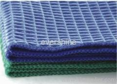 Microfiber waffle towel
