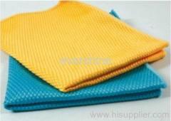 Microfiber diamond towel