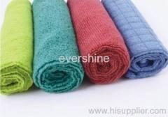Microfiber face towel set