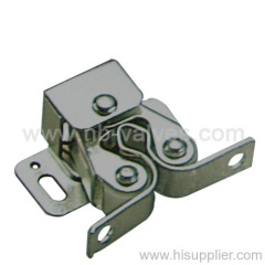 Stainless steel double-roll catch