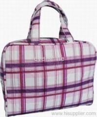 PU fabric cosmetic bag