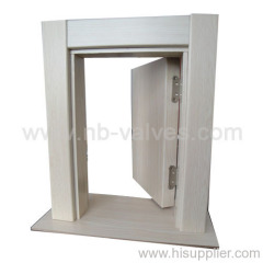 MDF keel wooden door