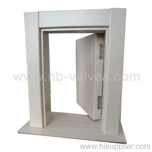 MDF keel wooden door