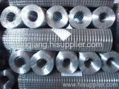 electro galvanized after welded wire mesh