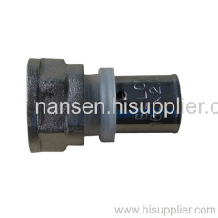 brass pap female coupling