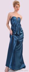 ブルーイブニングドレス