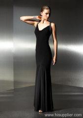 шифон вечернее платье