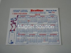 promotional magnetic calendar