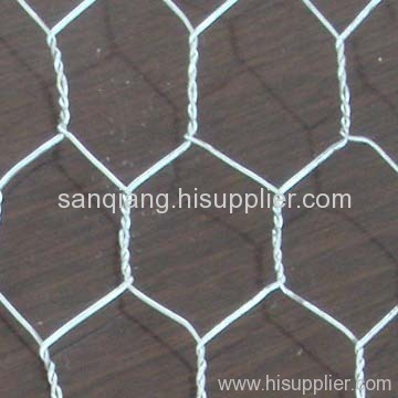 electro galvanized hexagonal wire meshes