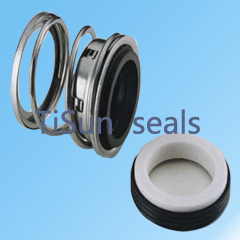 Auto cooling pump seals in car