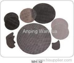 Black Iron Woven Wire Cloth