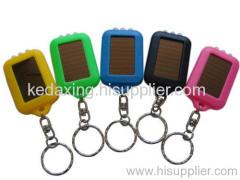 Solar Flash Keychain